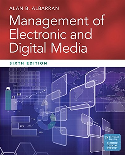 9781305077560: Management of Electronic and Digital Media (Cengage Series in Communication Arts)