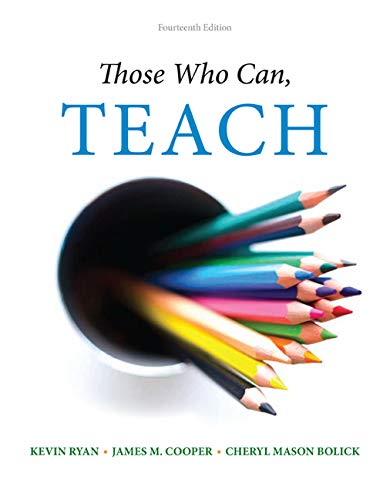Those Who Can, Teach: Kevin Ryan; James