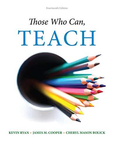 9781305077690: Those Who Can, Teach