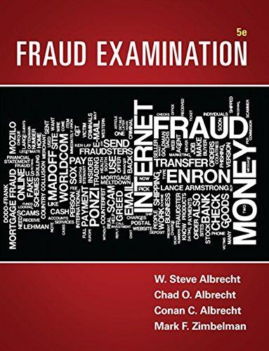 Fraud Examination: Zimbleman, Mark F.,