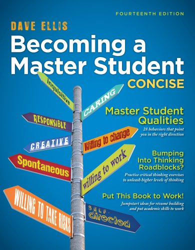 9781305081154: Becoming a Master Student: Concise