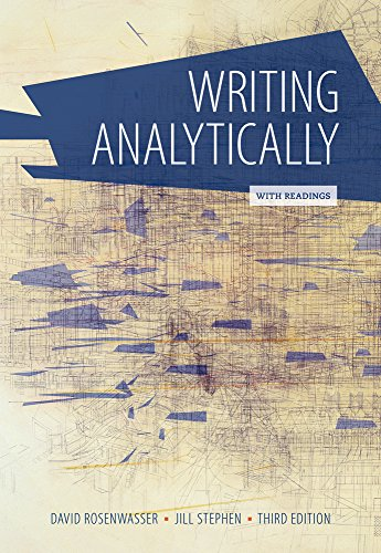 9781305081413: Writing Analytically with Readings