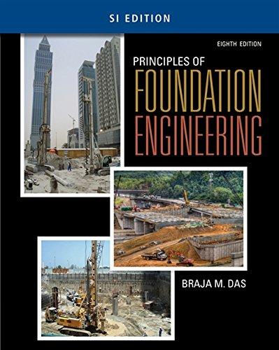 Principles of Foundation Engineering, SI Edition: Das, Braja M.