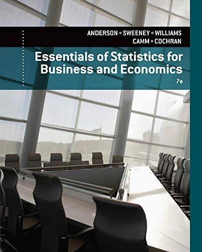 9781305081598: Essentials of Statistics for Business and Economics