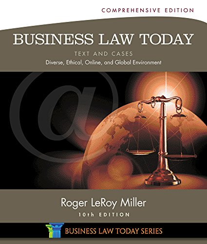 9781305081604: Business Law Today, Comprehensive