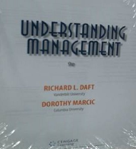 understanding management 8th edition by richard l Understanding management by richard l daft starting at $099 understanding management has 19 available editions to buy at half price books marketplace.