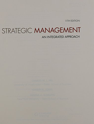 9781305081765: Strategic Management: Theory & Cases: An Integrated Approach