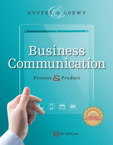 9781305081857: Business Communication: Process and Product (with Student Premium Website Printed Access Card)