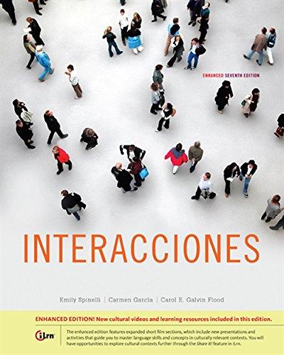 9781305081956: Interacciones, Enhanced (World Languages)