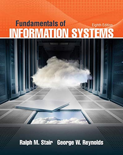 9781305082168: Fundamentals of Information Systems