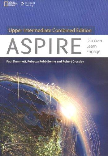 9781305084568: Aspire. Discover, Learn and Engage. Upper-Intermediate[Inclui manual do aluno+DVD] (Em Portuguese do Brasil)