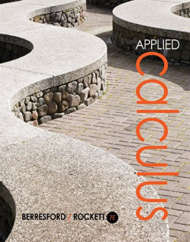 Applied Calculus: Berresford, Geoffrey C., Rockett, Andrew M.