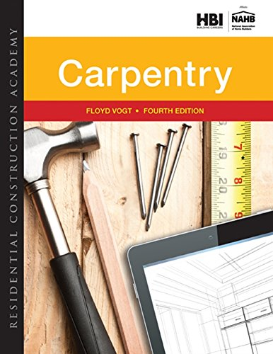9781305086180: Residential Construction Academy: Carpentry