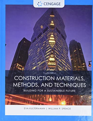 9781305086272: Construction Materials, Methods and Techniques