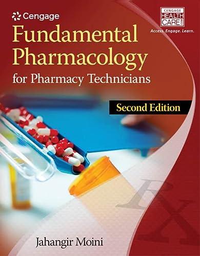 Fundamental Pharmacology for Pharmacy Technicians: Moini, Jahangir