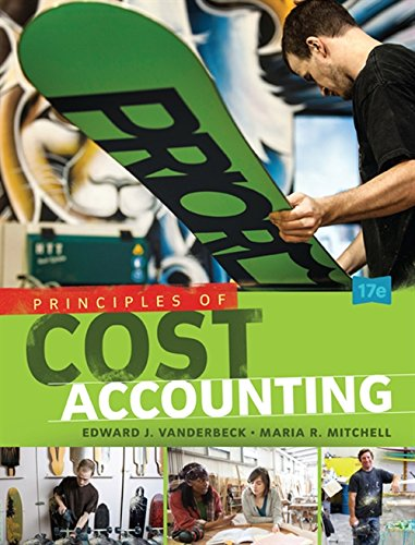 9781305087408: Principles of Cost Accounting