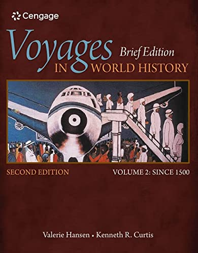 9781305088825 Voyages In World History Volume Ii