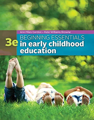 9781305089037: Beginning Essentials in Early Childhood Education