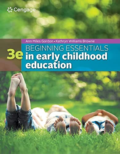 9781305089037: Beginning Essentials in Early Childhood Education (MindTap Course List)