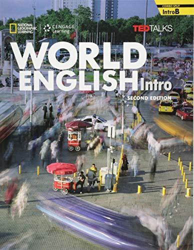 9781305089501: World English 2e Intro-B Combo Split + Owb Pac: Real People