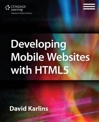 9781305090538: Developing Mobile Websites with HTML5