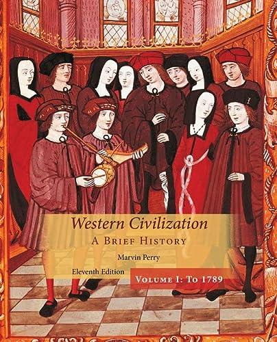 9781305091597: Western Civilization: A Brief History, Volume I