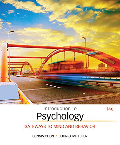 9781305091870: Introduction to Psychology: Gateways to Mind and Behavior (MindTap Course List)