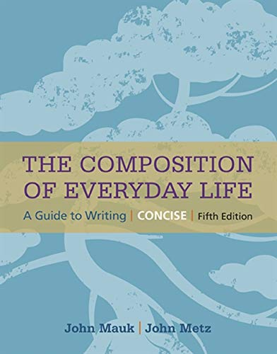 9781305092105: The Composition of Everyday Life, Concise (The Composition of Everyday Life Series)
