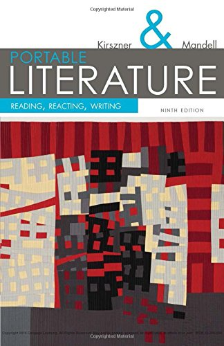 9781305092174: Portable Literature: Reading, Reacting, Writing (The Kirszner/Mandell Literature Series)