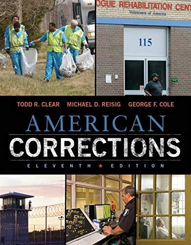 9781305093300: American Corrections