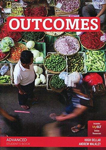 9781305093423: Outcomes. Advanced. Student's book. Con espansione online. Per le Scuole superiori [Lingua inglese]: Student's Book (with Printed Access Code) + DVD