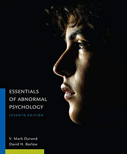 9781305094147: Essentials of Abnormal Psychology