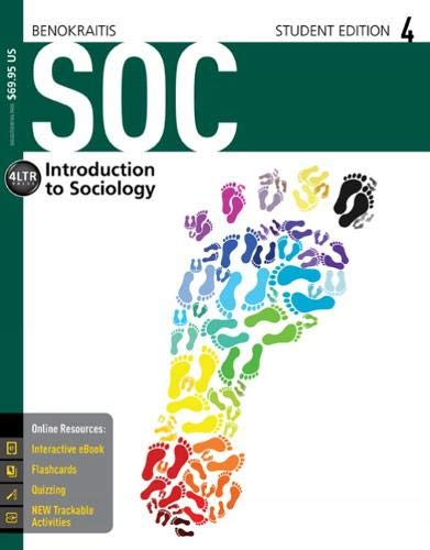 9781305094550: SOC (with CourseMate, 1 term (6 months) Printed Access Card) (New, Engaging Titles from 4LTR Press)