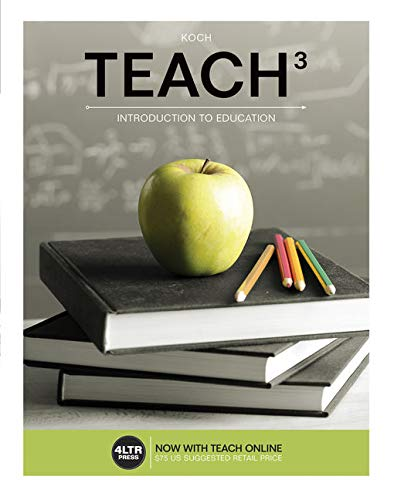 9781305094642: TEACH (with TEACH Online,1 term (6 months) Printed Access Card) (New, Engaging Titles from 4LTR Press)