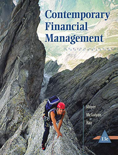 9781305098374: Contemporary Financial Management (with Thomson ONE - Business School Edition 6-Month Printed Access Card)