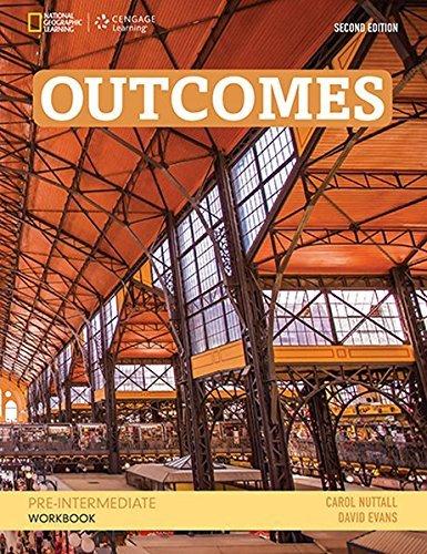 9781305102156: Outcomes Bre Pre Intermed Workbook + CD 2e