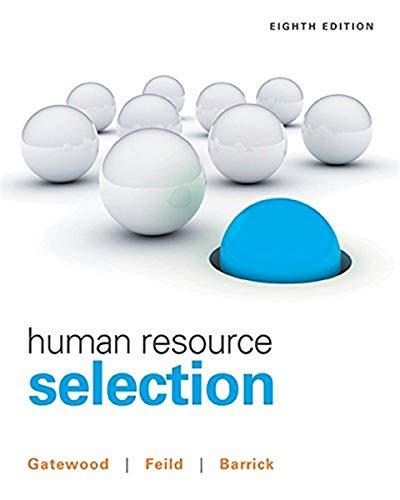 9781305102682: Human Resource Selection