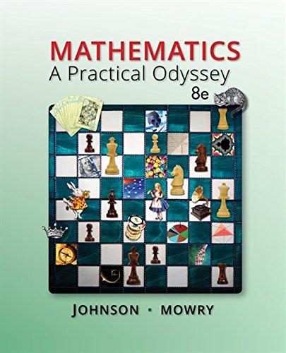 9781305104174: Mathematics: A Practical Odyssey