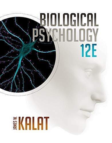 Biological Psychology Kalat James W