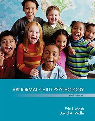 9781305105423: Abnormal Child Psychology