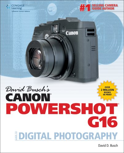 9781305106642: David Busch's Canon PowerShot G16 Guide to Digital Photography