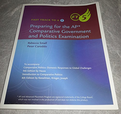 9781305107038: Fast Track to a 5: Preparing for the AP* Comparative Government and Politics Examination