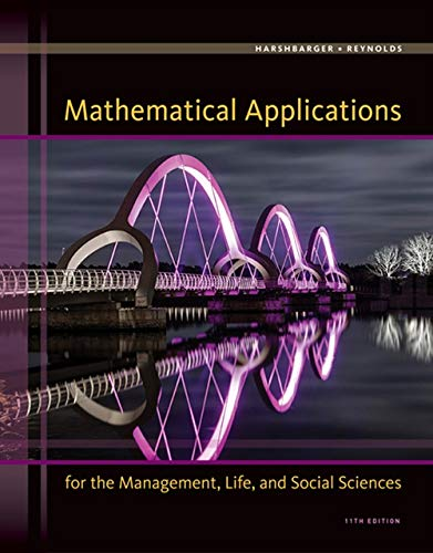 9781305108042: Mathematical Applications for the Management, Life, and Social Sciences