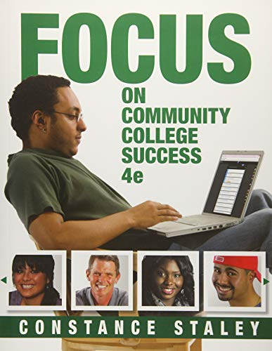 9781305109575: FOCUS on Community College Success