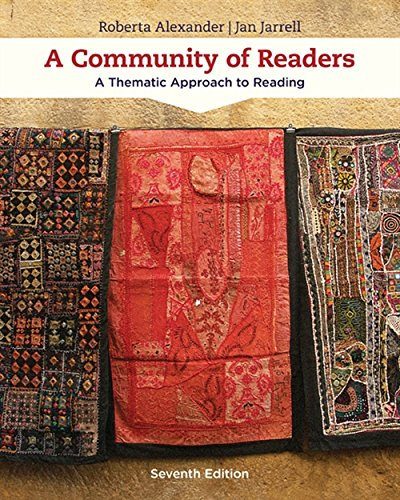 9781305109643: A Community of Readers: A Thematic Approach to Reading