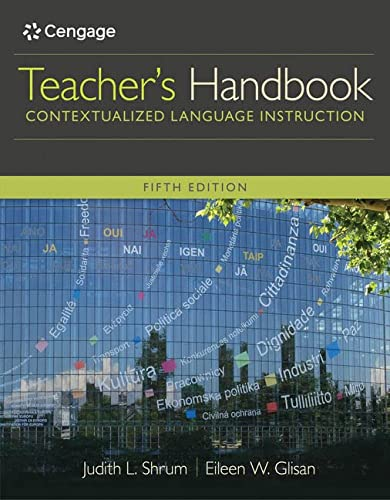 9781305109704: Teacher's Handbook: Contextualized Language Instruction (World Languages)