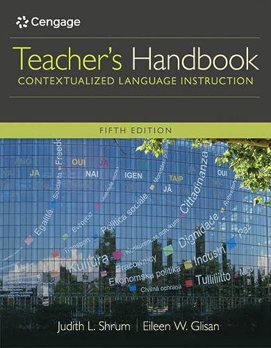 9781305109704: Teacher's Handbook: Contextualized Language Instruction (World Languages)