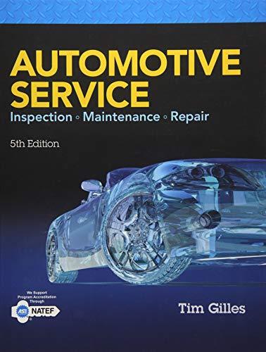9781305110595: Automotive Service: Inspection, Maintenance, Repair