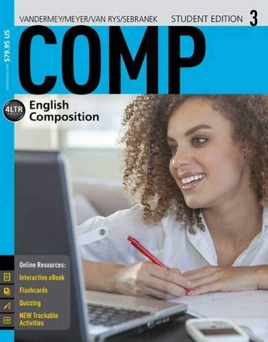 COMP, by VanderMey, 3rd Edition: VanderMey, Randall