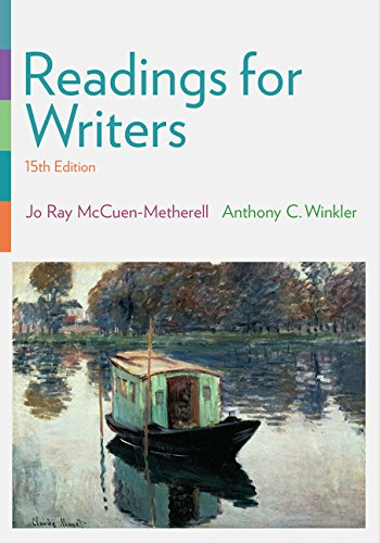 9781305113138: Readings for Writers
